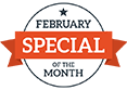February 2020 Special of the Month