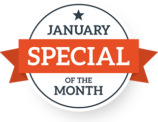 January Special of the Month