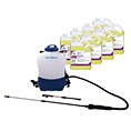 Electro Spray Electrostatic Backpack Disinfectant Sprayer