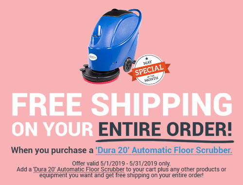 Free Shipping on entire order with Dura 20 Carpet Extractor