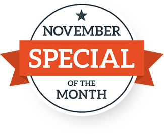 November Special of the Month