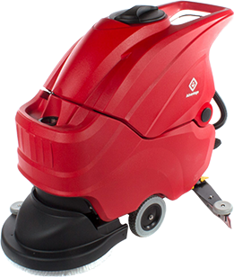 Advantage 20 inch Red Automatic Floor Scrubber October Special