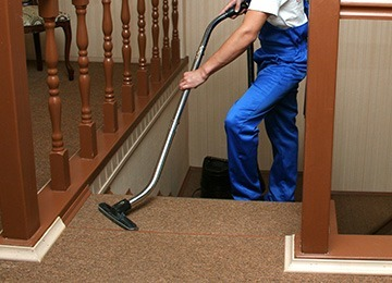 Correct way to vaccum