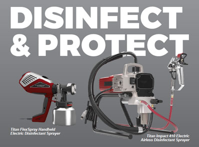 Titan Disinfectant Sprayers