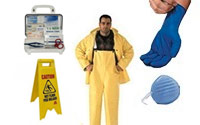 Safety: PPE, Matting, and Signs
