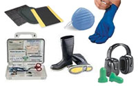 Safety: PPE, Matting & Signs