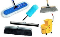 Sweeping, Mopping & Scrubbing