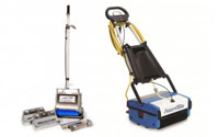 Counter Rotating Brushes (CRB) Carpet & Floor Scrubbers