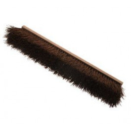 24 inch Seabrook™ Rough Sweep Palmyra Bristle Push Brooms - 6 Pack