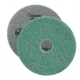 Green Twister™ Diamond Concrete Prep Pads - 3000 Grit - Round (10