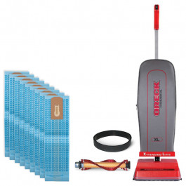 Oreck® Upright Vacuum Package Deal (w/ Bags, Belts & Brush Roll)