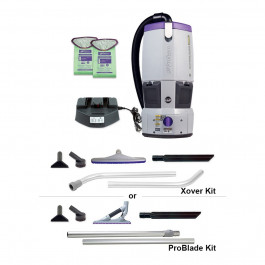 ProTeam® GoFree® Flex Pro Battery Powered Backpack Vacuum w/ Choice of Tool Kit