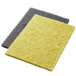 Yellow Twister™ Diamond Concrete Prep Pads - 1500 Grit - Rectangular