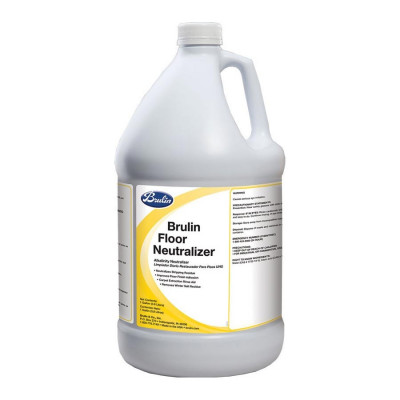 Brulin® Floor Neutralizer & Rinse Aid - 4 Gallons per Case