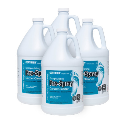Nilodor® Encapsulationg Pre-Spray Carpet Cleaner Case of 4 Gallons