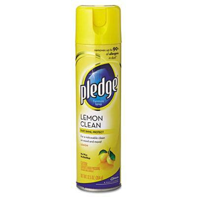 Case of Pledge Lemon Clean Furniture Polish