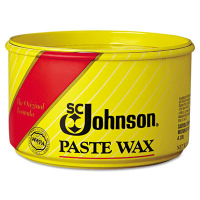 Paste Wax, Multi-Purpose Floor Protector, 16oz Tub, 6/carton