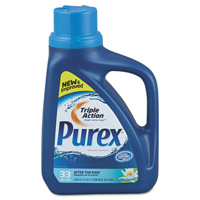 Purex Liquid He Detergent (50 oz. Bottle) - Case of 6