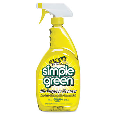 Simple Green Lemon Scent All-Purpose Cleaner Case