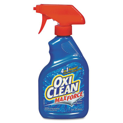 Oxiclean Max-Force Stain Remover, 12oz Bottle, 12/carton