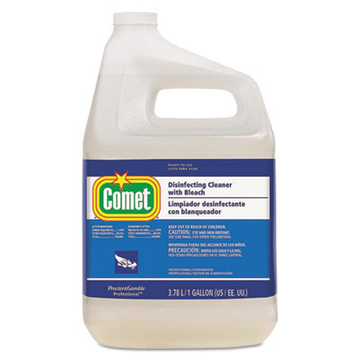 Disinfecting Cleaner With Bleach, 128 Oz Bottle