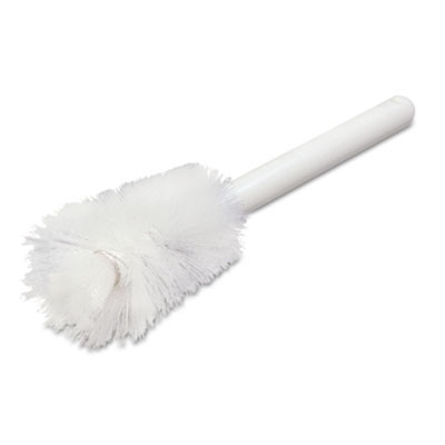 Sparta Handle Bottle Brush, Pint, 12', White