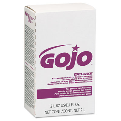 GOJO® NXT® Deluxe Lotion Soap with Moisturizers - Case of 2000 mL Refills