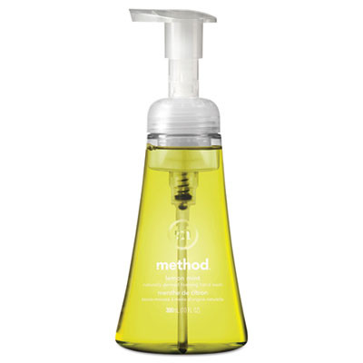 Foaming Hand Wash, Lemon Mint Foaming, 10 Oz Pump Dispenser