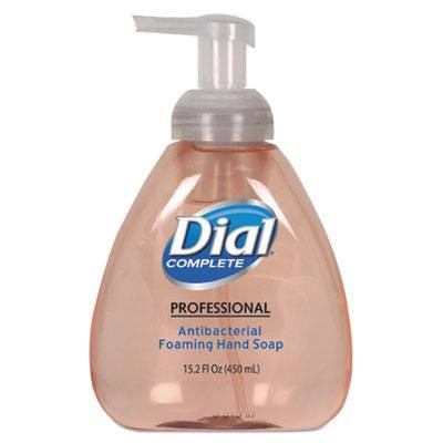 Case of Dial Complete Antimicrobial Foaming Hand Soap, Original Scent, 15.2oz