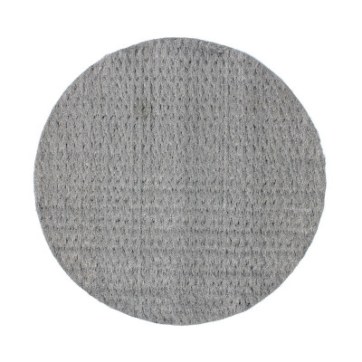 "20"" Texsteel Pressed Steel Wool Floor Pads - Case of 12"