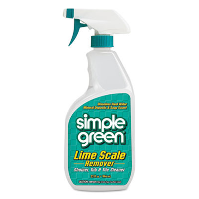 Simple Green Scale Remover & Deodorizer (32 oz. Spray Bottle) - Case of 12