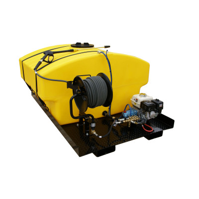 Truck Mounted Power Washing System