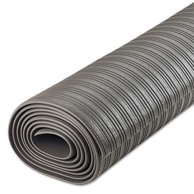 Gray 36 x 120 Ribbed Anti-Fatigue Mat