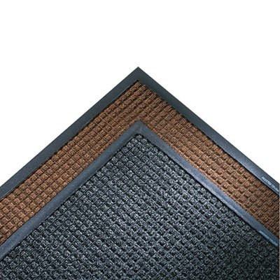 Charcoal 34 x 119 Super-Soaker Wiper Mat w/Gripper Bottom