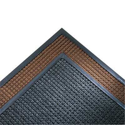 Dark Brown 34 x 119 Super-Soaker Wiper Mat w/Gripper Bottom
