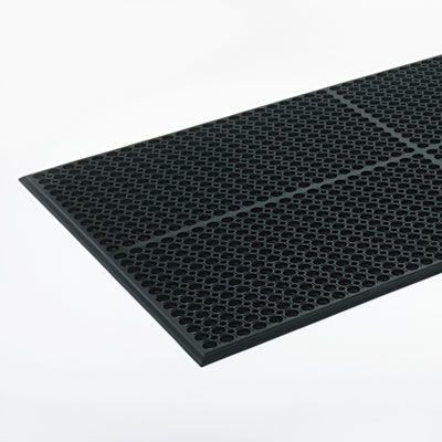 Black 36 x 60 Safewalk-Light Drainage Safety Mat