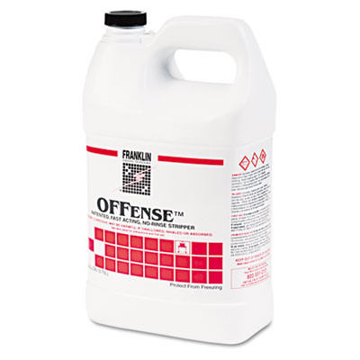 Offense Floor Stripper, 1gal Bottle, 4/carton