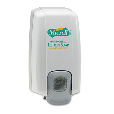Micrell Nxt Lotion Soap Dispenser, 1000ml, 5 1/8w X 3 3/4d X 10h, Dove Gray