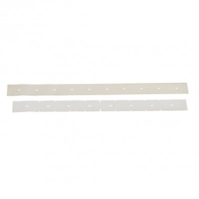 Front & Rear Squeegee Blade Kit (Tan Gum Rubber) for Advance SC901 Floor Scrubber
