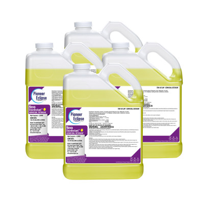 Pioneer Eclipse Nova™ Concentrated Germicidal Cleaner & Disinfectant (1 Gallon Bottles) – Case of 4