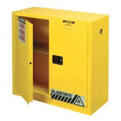 2 Door Yellow Fire Safety Cabinet