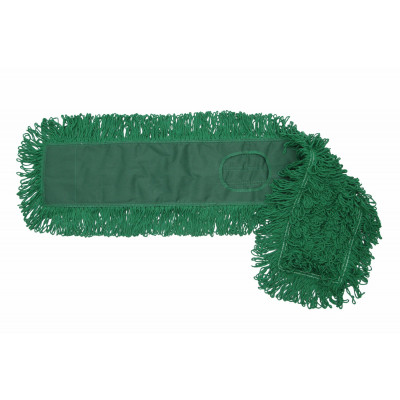 MaxiDust Cotton Loop-End Mops - Green