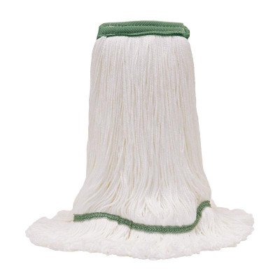 Large MaxiPlus® Microfiber Loop-End White Mop