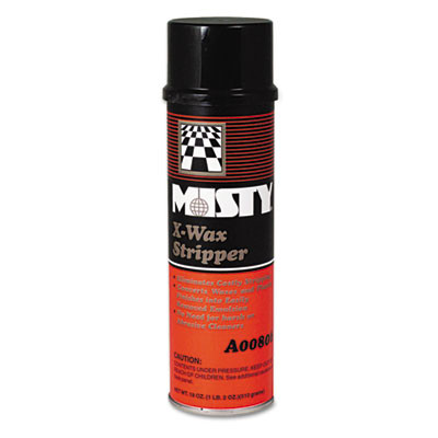 Misty X-Wax Aerosol Floor Stripper - Unscented