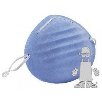 Blue Medical Cone Face Mask