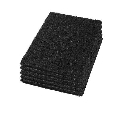20 inch Black Rectangular Stripping Pads