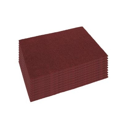 14 x 28 inch Eco-Prep Maroon Dry Stripping Pads