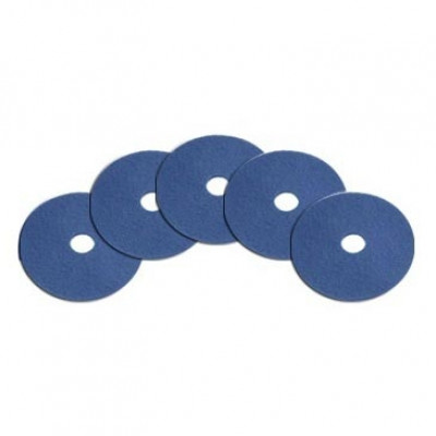 15 inch Blue Floor Clean/Scrub Pad