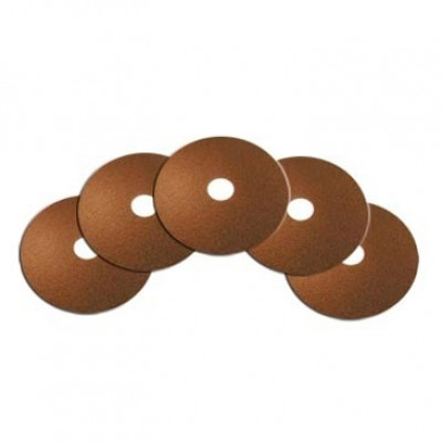15 inch Brown Floor Stripping Pad