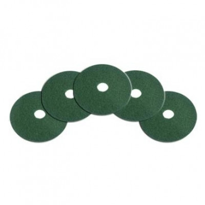 18 inch Green Heavy Duty Floor Scrub Pads